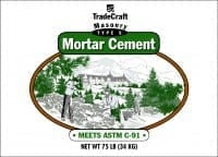 TradeCraft Type S Masonry Mortar Cement