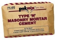 Pakmix Type N Masonry Mortar Cement