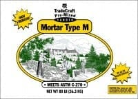 TradeCraft Type M Mortar