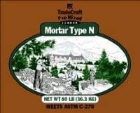 TradeCraft Type N Mortar