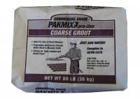 Pakmix Commercial Grade Coarse Grout