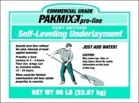 Pakmix Fast Setting Self Leveling Underlayment