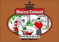 TradeCraft Stucco Cement
