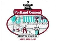 TradeCraft White Portland Cement