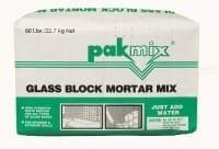 Pakmix Glassblock Mortar Mix
